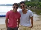 Com irmão em Paraty, Bruno Gissoni planeja voltar 'para viagem romântica'