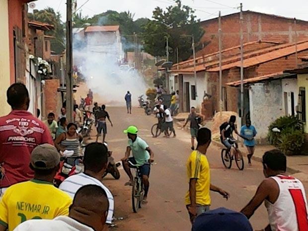 Desocupação acaba em morte no Turu, em São Luís (Foto: Alessandra Rodrigues/ Rádio Mirante AM)