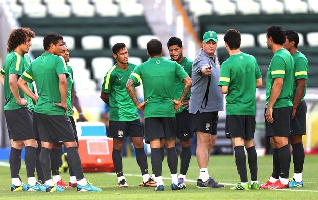 Felipão treino seleção brasileira (Foto: EFE)