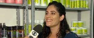 Programa especial sobre cuidados com cabelos (Reprodução/TV Globo)