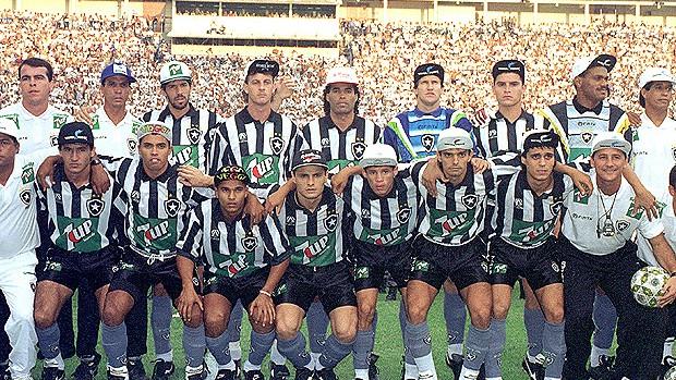 botafogo 1995 campeão brasileiro (Foto: Agência Estado)
