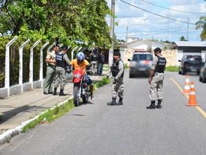 Homem disse que atuava como segurança de um supermercado no bairro de Manaíra  (Foto: Walter Paparazzo/G1)
