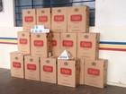Polícia apreende caixas de cigarros do Paraguai em Serra do Salitre, MG