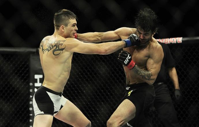Johnny Case Yan Cabral UFC São Paulo MMA (Foto: Marcos Ribolli)