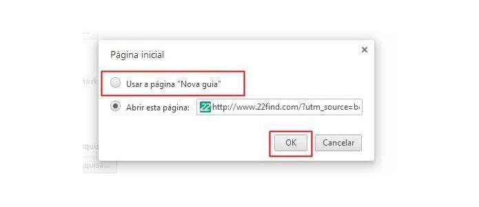 Use uma nova guia comum no lugar do Sweet Page (Foto: Reprodução/Paulo Alves)
