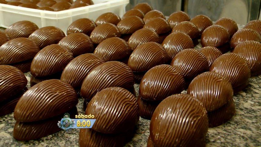 Chocolate, no Gazeta Comunidade (Foto: Divulgação/ TV Gazeta)