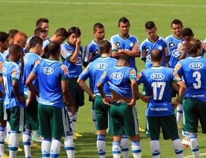 Gilson Kleina treino Palmeiras (Foto: Denny Cesare / Ag. Estado)