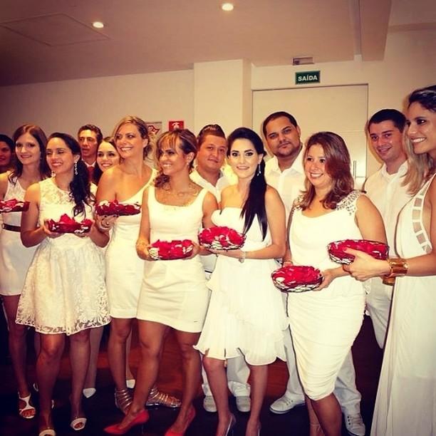 Casamento da ex-bbb Angélica Morango  (Foto: Instagram / Reprodução)