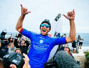 Sebastian Zietz campeão margaret river surfe (Foto: Divulgação/WSL)