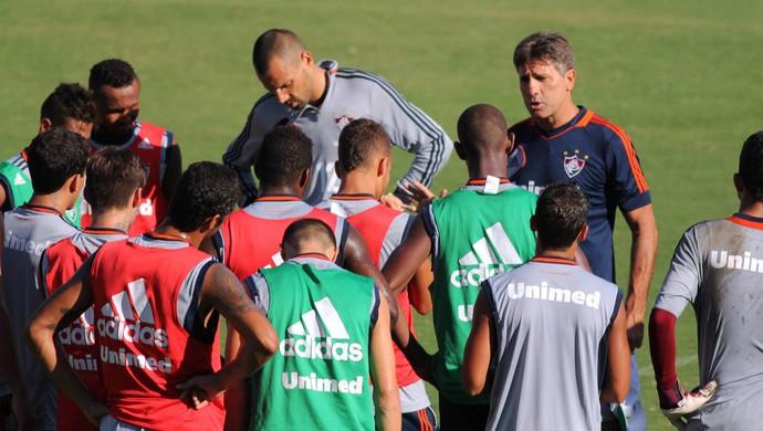 Renato Gaucho treino Fluminense (Foto: Fernando Cazaes / Photocamera)