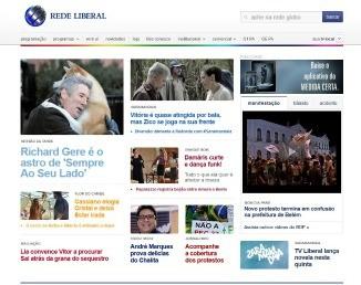 Home TV Liberal  (Foto: Reprodução/Site TV Liberal)