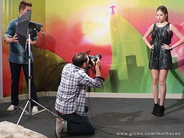 Olha a cara de desanimada da Ju. Tá rolando alguma coisa com a linda... (Foto: Malhação / Tv Globo)