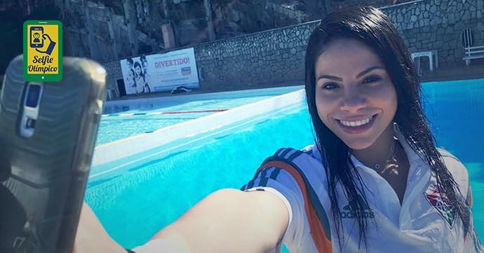 carrossel_selfie_olimpico_690_360_ingrid (Foto: EDITORIA DE ARTE)