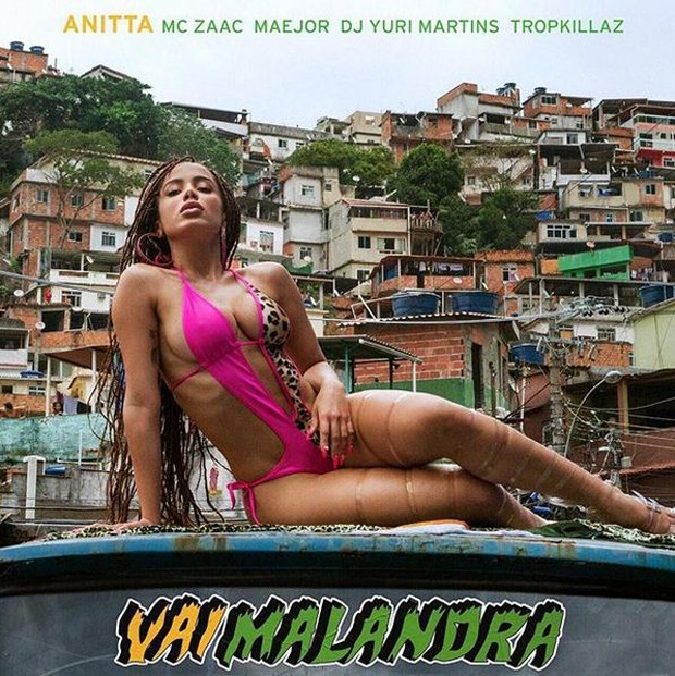 Anitta divulga capa do single