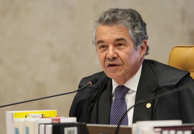 O ministro do STF, Marco Aurélio Mello (Foto: Nelson Jr/SCO/STF)