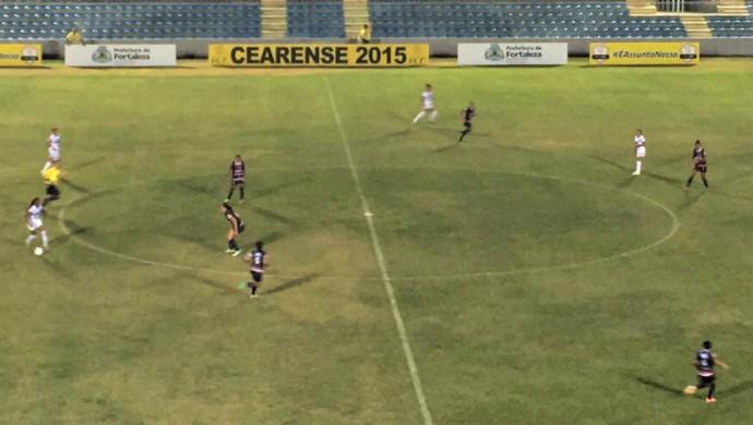 Caucaia x Juventus PV Cearense Feminino (Foto: Manuella Viana/Divulgação)