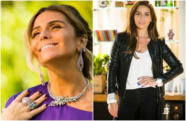 f7d44be5f Giovanna Antonelli com as unhas que fizeram sucesso nas novelas A Regra do  Jogo (à