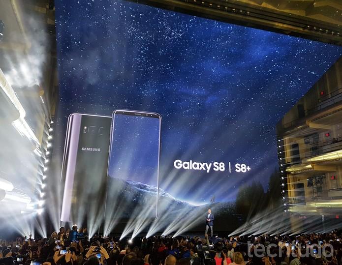 Galaxy S8 é lançado pela Samsung (Foto: Thássius Veloso/TechTudo)