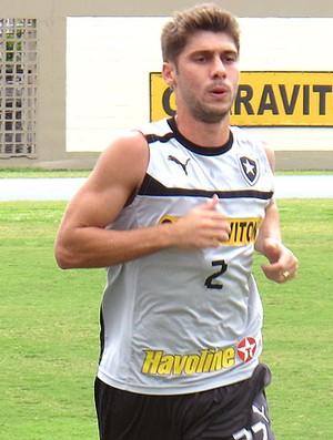 Fellype Gabriel no treino do Botafogo (Foto: Fred Huber / Globoesporte.com)