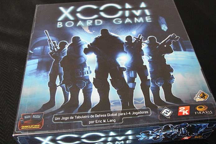 XCOM é um boardgame 100% cooperativo (Foto: Felipe Vinha)