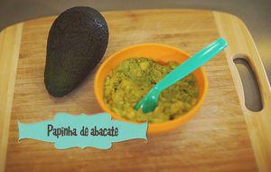 Papinha de abacate