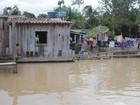 Cheia atinge 491 famílias em Vitória do Xingu, no Pará