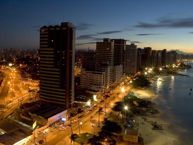 Fortaleza-CE (Foto: Divulgação/Secretaria de Turismo do Ceará)