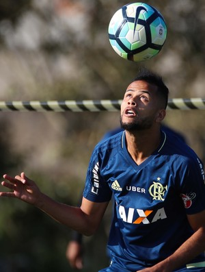 Geuvânio Treino Flamengo (Foto: Gilvan de Souza/Flamengo)