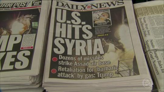 Americanos dividem opiniões sobre o ataque à Síria