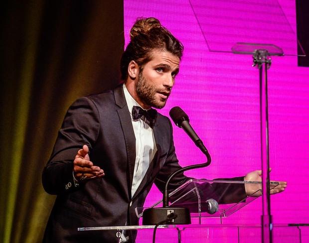 Bruno Gagliasso em evento em São Paulo (Foto: Francisco Cepeda/ Ag. News)