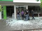 Bandidos explodem quatro de cinco agências bancárias de cidade no PR