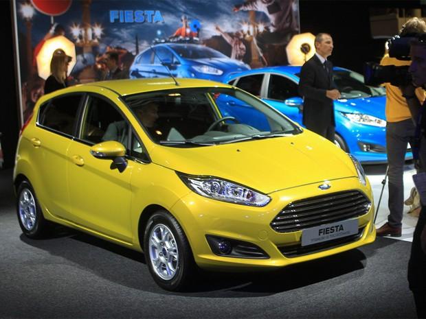 Ford New Fiesta no Salão de Paris  (Foto: Divulgação)