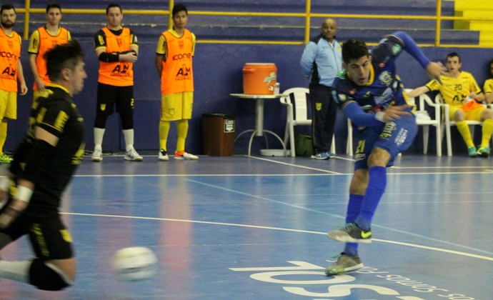 São José Futsal x Assoeva (Foto: Brenno Domingues/Quarttus Marketing)