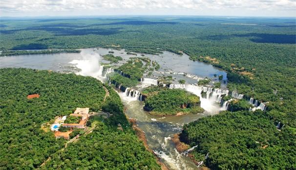 Meu Paraná Parque Nacional do Iguaçu (Foto: Divulgação Site Instituto Chico Mendes)