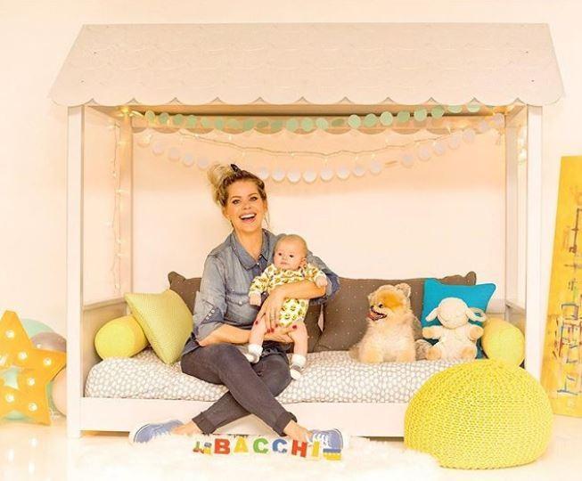 Karina Bacchi celebra o primeiro Dia das Crianças de Enrico (Foto: Reprodução/Instagram)