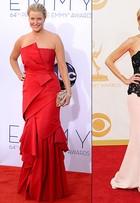 Estrela de 'Breaking Bad' aparece bem mais magra no Emmy