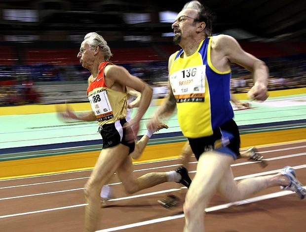 corrida atletas Campeonado Europeu de Veteranos Atletismo Espanha (Foto: EFE)