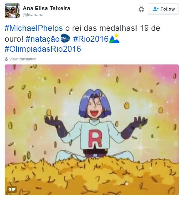 meme olimpíada primeiro fim de semana 9 (Foto: Reprodução/Twitter)