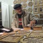 Local expõe talento de artesãos (Géssica Valentini/G1)