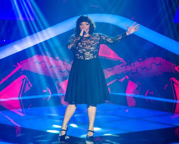 Deena Love no primeiro dia de Audição às Cegas (Foto: Isabella Pinheiro / Tv Globo)