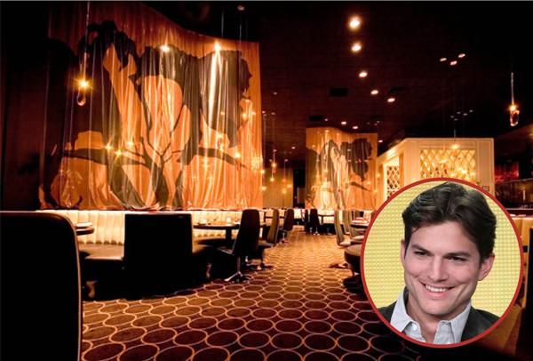 Ashton Kutcher já teve inúmeros restaurantes, incluindo o Dolce Enoteca (Foto: Getty Images / Divulgação)