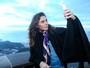 Giovanna Antonelli madruga para participar de ação no Cristo Redentor