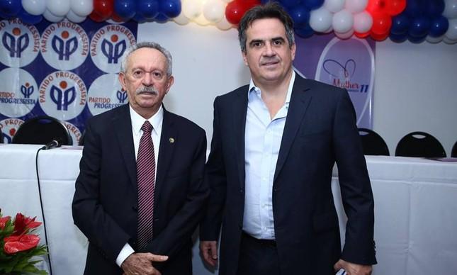 Senadores Benedito de Lira e Ciro Nogueira (Foto: Wellington Carvalho/Ascom-PP)