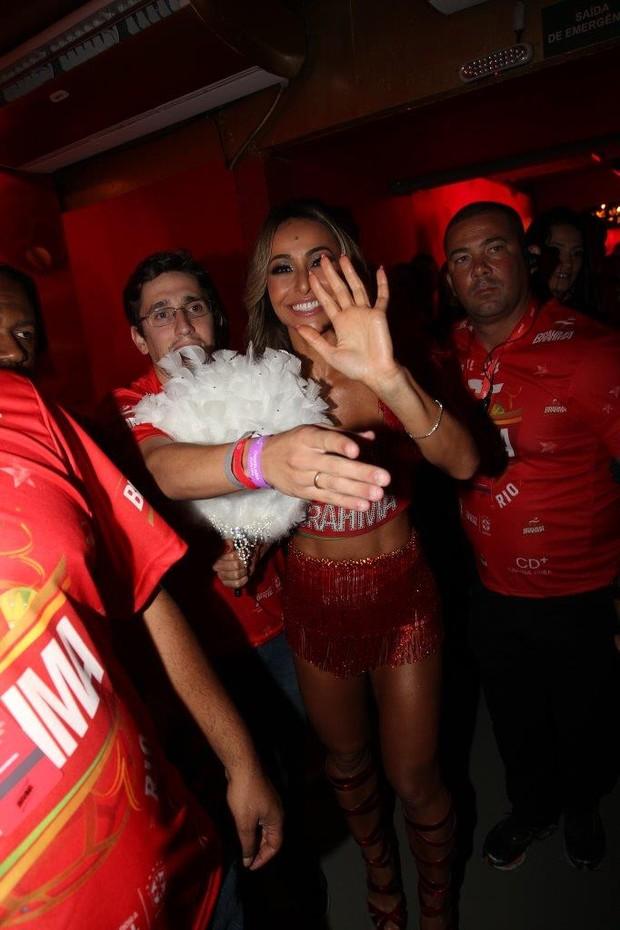 Sabrina Sato no carnaval no Rio de Janeiro (Foto: Francisco SIlva/ Ag. News)