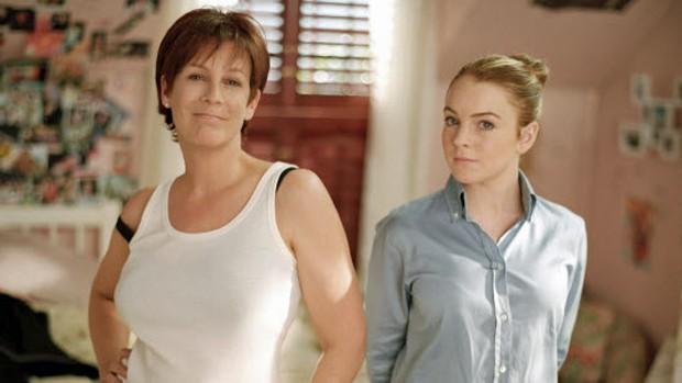 Lindsay Lohan tem uma 'Sexta-feira Muito Louca' (reprodução/divulgação)