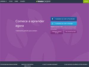 Passo a passo para usar a Khan Academy em português (Foto: Reprodução)
