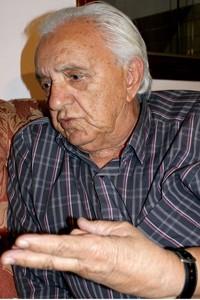 Sebastião de Almeida Ramos, pai de Carlos Cachoeira. (Foto: Vianey Bentes/ TV Globo)