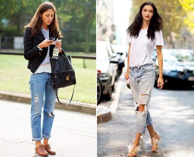 O Seattle jeans flagrado pelas lentes de Scott Schumann, do blog The Sartorialist (Foto: Reprodução/The Sartorialist)
