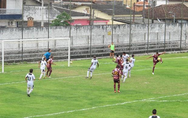São Vicente Sertãozinho Campeonato Paulista (Foto: Bruno Gutierrez)