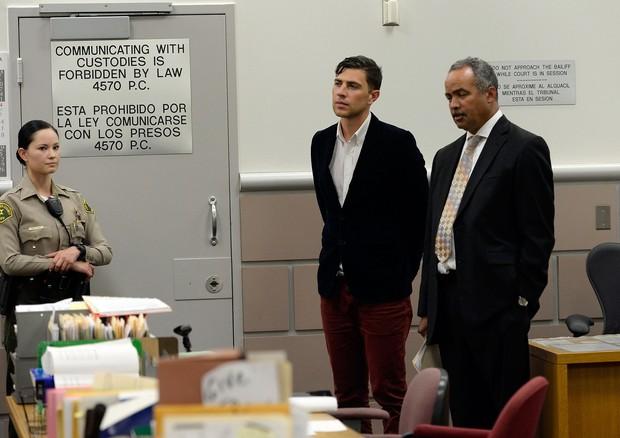 Em maio de 2014, Vitalii Sediuk foi julgado pela agressão a Brad Pitt (Foto: Getty Images)